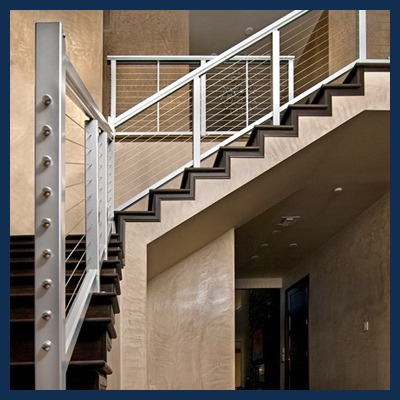 Stainless Steel Feeney Cable Railing Systems Tampa Steel