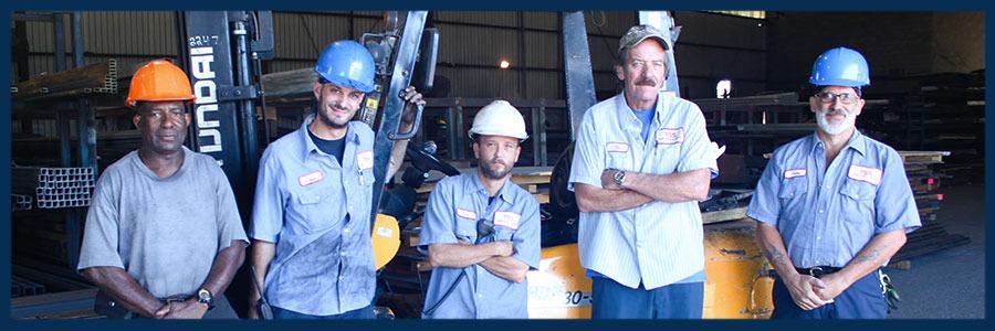 Tampa Steel Forklift