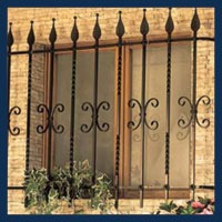 Ornamental Pierced Bars