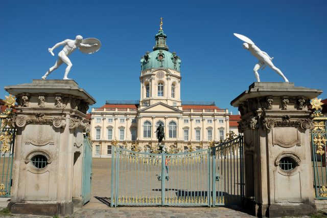 wrought iron Charlottenburg Palace