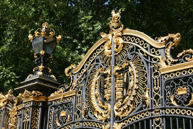 wrought iron canada gate