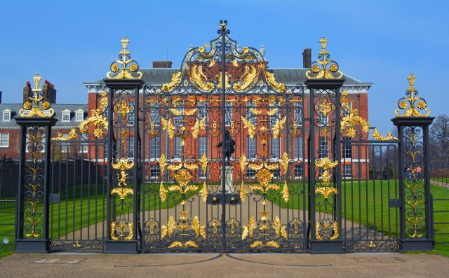 wrought iron fence kensington palace