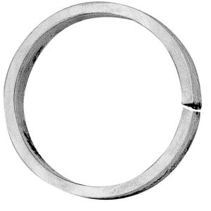 "DECORATIVE ALUMINUM RING 3-15/16"" DIAMETER"