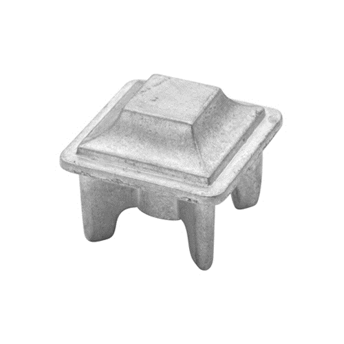 "ZINC ALLOY POST CAP 1-1/4"" SQUARE"