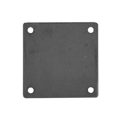 "BASE PLATE 1/4 X 6 X 6 - 3/8"" HOLES"