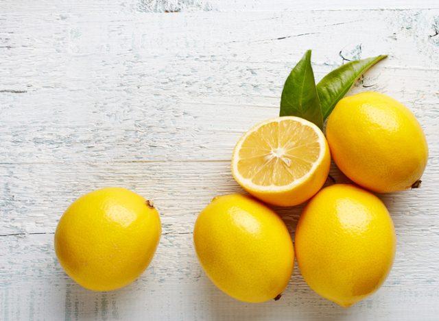 Remove rust with lemon and borax
