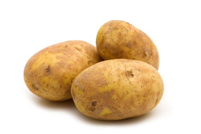 Remove rust with potato